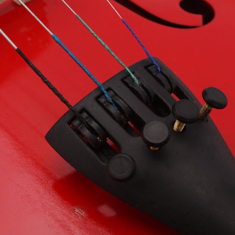 Full Size 4//4 Arbour Violinbogen Fiddle Bow Rosshaar Vorzueglich fuer Violi GJ